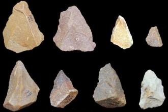 Hindistan'da bulunan taş aletleri kim yaptı?