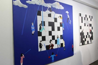 'Bugün' sergisi 7 Mart'a kadar sanatseverleri ağırlayacak