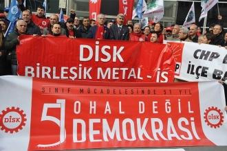 DİSK 51 yaşında: Adalet, barış, özgürlük diyenler kazanacak
