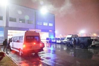 Özel harekatın mühimmat deposunda patlama: 2 polis yaralı