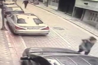 Genç kadın kendisini takip eden kişinin saldırısına uğradı