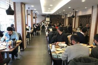 Kayseri'de Kor Kitap için tanıtım kahvaltısı