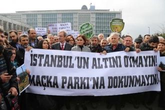 'Maçka Parkı'nı yok ederseniz biz de İBB'yi parka çeviririz'