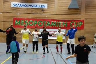 Mezopotamya Kupası Futbol Turnuvasının 4'üncüsü düzenlendi