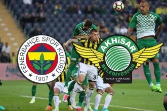 Fenerbahçe, 3 eksikle Akhisarspor'u ağırlıyor