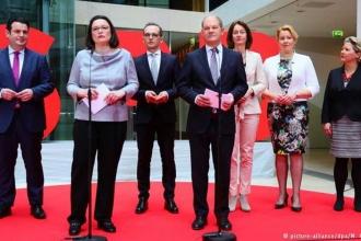 SPD'li bakanların tamamı belli oldu
