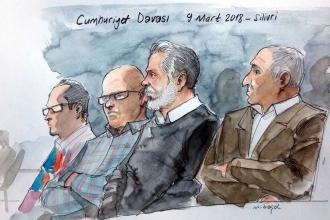Cumhuriyet davasında Ahmet Şık ve Murat Sabuncu'ya tahliye