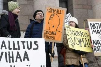 Finlandiya'da 'rıza yasası' meclis gündeminde