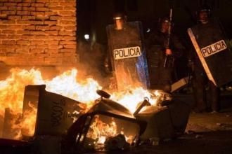 Madrid'de göçmen satıcının ölümü protestolara yol açtı