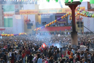Newroz'a katılan yurttaşlar: Güzel yarınları olan bir dünya istiyoruz