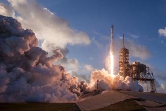 İkinci el roket astronotlara yemek götürdü