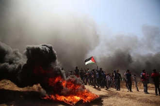 Two more Palestinians are killed by cross-border Israeli army gunfire