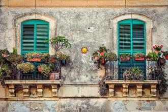 Haydi balkonları rengarenk çiçeklerle şenlendirelim