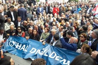 'OHAL'le grevlerimizi engelleyenleri görmezden mi geleceğiz?'