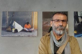 İnşaat işçisi Hakan Ottaş, fotoğraf sergisi açtı