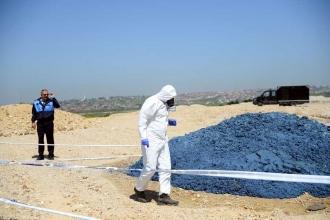 Büyükçekmece'de göle kimyasal atık döküldü
