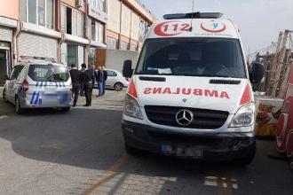 Bakırköy'de yük asansörü düştü, 4 işçi yaralandı