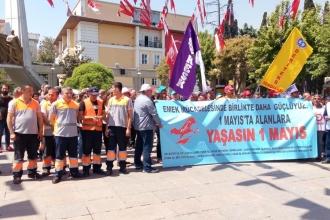 Bakırköy'de konfederasyonlardan ortak 1 Mayıs kutlaması