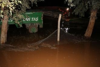 Harran'da şiddetli yağış: 14 hayvan öldü