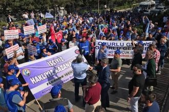 Flormar işçisi: Maddi ve manevi destek istiyoruz