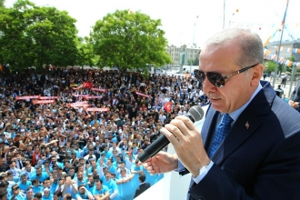 Cumhurbaşkanı Erdoğan: Biz çevreciyiz, diktiğimiz ağaçlarla nam saldık