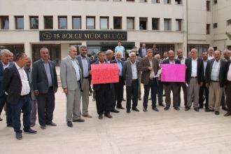 Suruçlu çiftçiler, Devlet Su İşlerini protesto etti