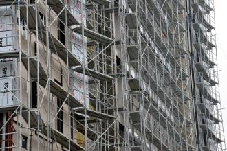 Balıkesir'de inşaattan düşen işçi hayatını kaybetti
