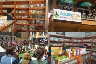 Samsun'un ilk çocuk kitabevi açıldı