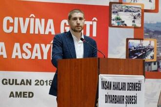 İHD Diyarbakır Şube Başkanlığına Abdullah Zeytun seçildi
