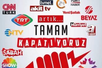 Ana akım medya sosyal medyada protesto ediliyor: #KapatGitsin
