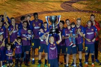 Barcelona, Iniesta'ya galibiyetle veda etti