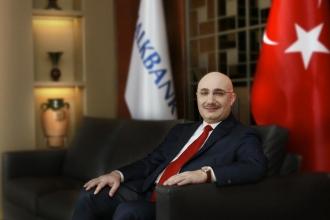 Halkbank Genel Müdürü AKP il başkanı gibi konuştu