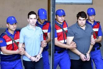 Edirne'de tutuklu bulunan Yunan askerlerine yine tahliye çıkmadı