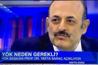 YÖK Başkanı Yekta Saraç'tan Cerrahpaşa açıklaması