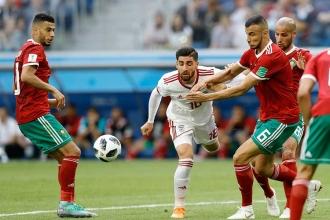 Dünya Kupası B grubu ilk maçında İran, Fas'ı 1-0 mağlup etti