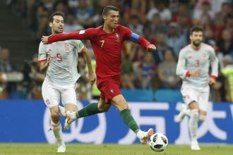 2018 Dünya Kupası'nda İspanya ile Portekiz 3-3 berabere kaldı