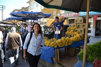 HDP milletvekili adayı Nuray Türkmen: Sadaka kültürünü üretiyorlar