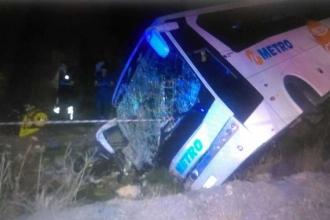 Aydın'da yolcu otobüsü devrildi: 28 yaralı