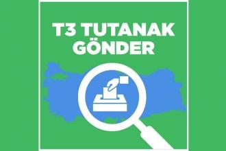 Oy ve Ötesi, 'T3 Tutanak Gönder' mobil uygulamasını güncelledi