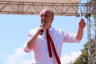Muharrem İnce, Ankara mitinginde konuşuyor