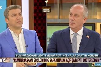 Muharrem İnce'den Erdoğan'a: Ruh hali iyi değil, doktora gitmesi lazım