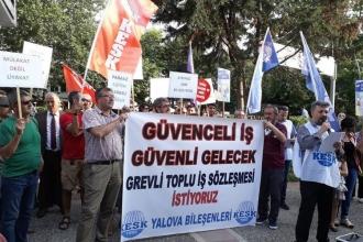 Yalova'da kamu emekçileri seçim taleplerini açıkladı