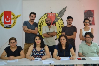 Mersin Büyükşehir Belediyesinin tiyatro engeline tepki