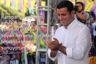 Selahattin Demirtaş'tan sesli mesaj: Türkiye'de bir dönem kapanacak