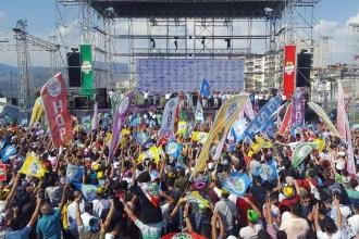 Buldan: Erdoğan'ın 30 kanala çıkması Demirtaş'ın bir 'ketılı' etmez