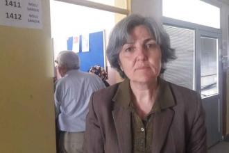 EMEP Genel Başkanı Selma Gürkan oyunu kullandı