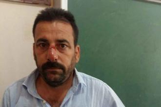 Suruç'ta HDP'liler darbedildi, blok oy kullanıldı