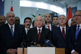 Bahçeli'den ilk açıklama: Meclis'in kilit partisi olduk
