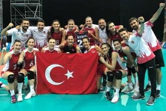 Türkiye Kadın Voleybol Takımı, Akdeniz Oyunları'nda üçüncü oldu
