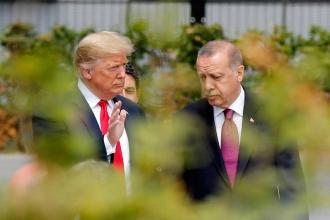 Cumhurbaşkanı Erdoğan ile ABD Başkanı Trump Suriye'yi görüştü